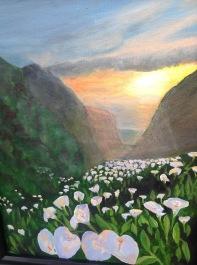 Painting of Cala lies
