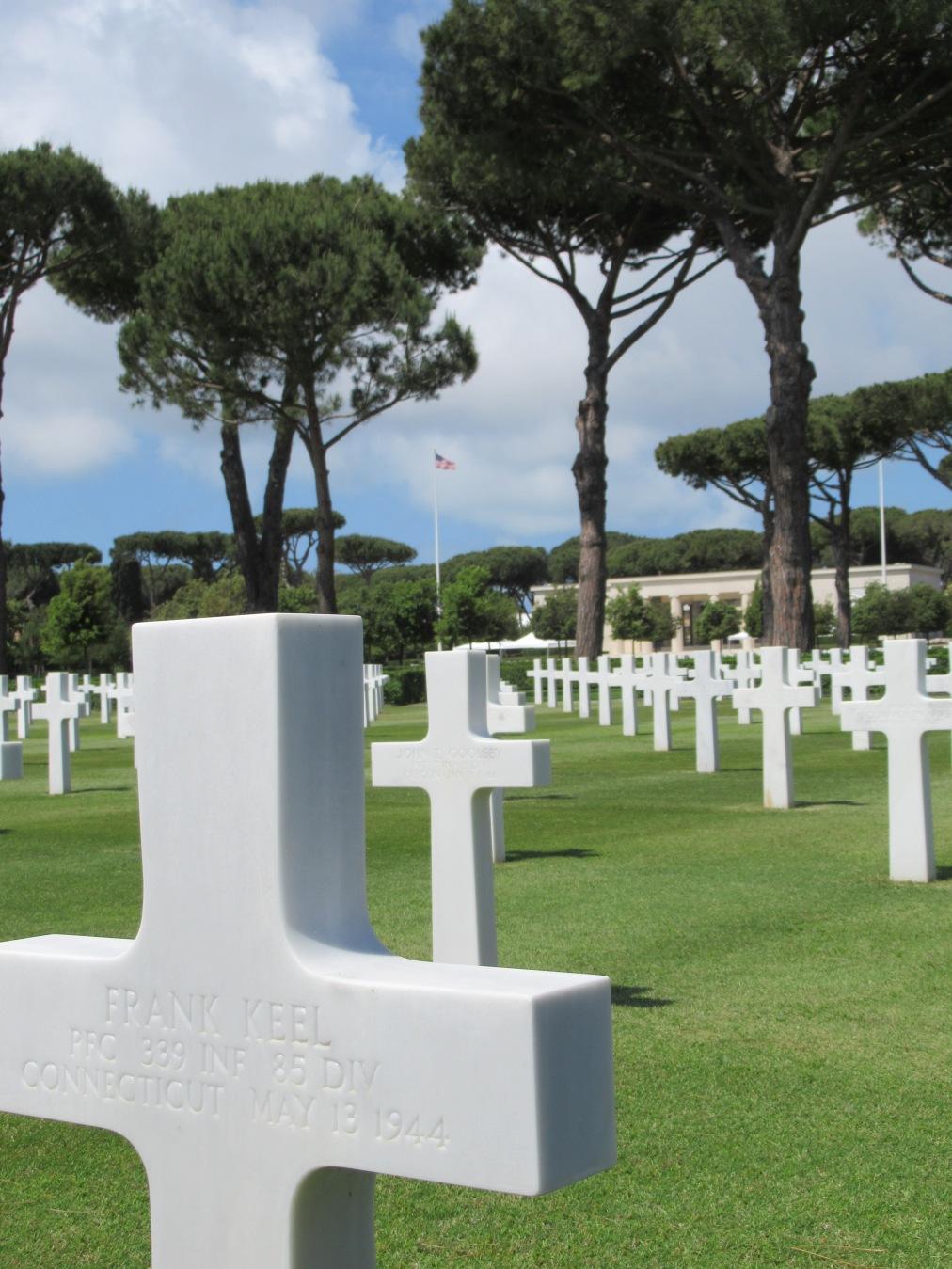 Sicily/Rome American Cemetery